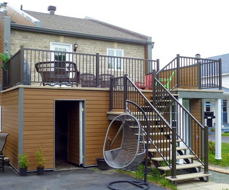 R alisations de patio galerie et balcon en fibre de verre for Galerie et patio