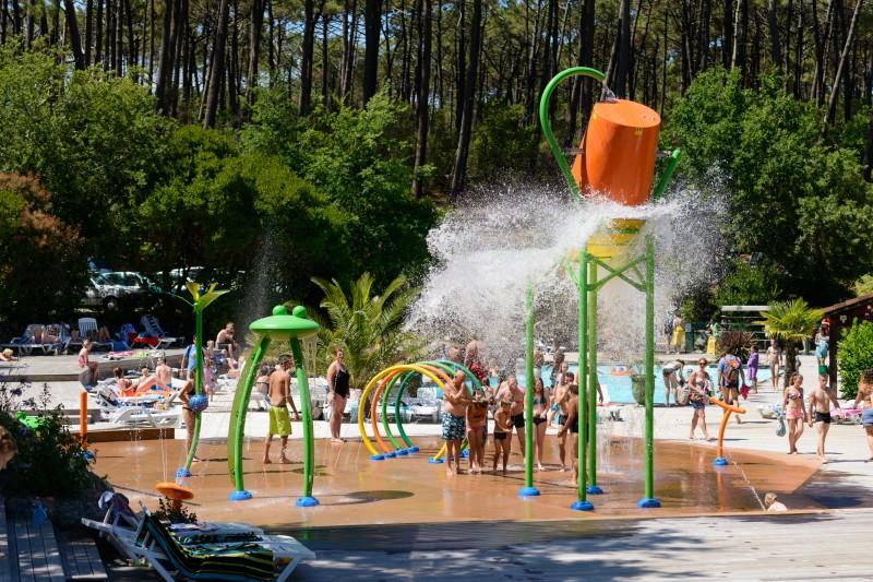 Jeux d'eau, parc d'amusement aquatique, fibre de verre, FVR