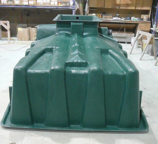biofiltre en fibre de verre FVR système de traitement des eaux usées écologique et durable par gravité